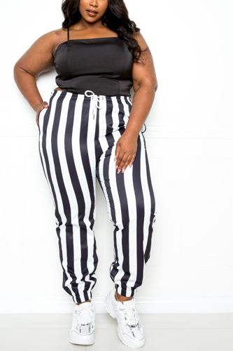 Stripe Jogger