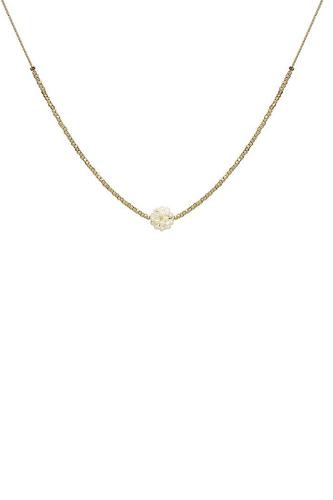Fashion Multi Bead Ball Chain Necklace
