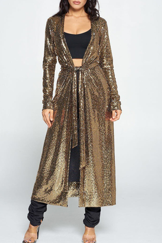 Shine On With This Sequin Cardigan