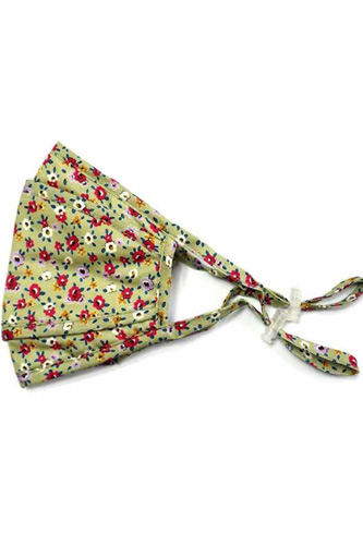 3d Stereoscopic Floral Circle Cotton Mask