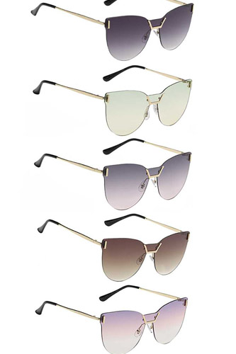Luscious Rimless Frame With Panel Lens Sunglasses
