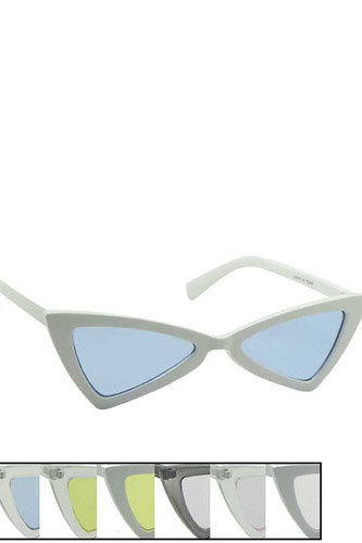 Chic Sharp Eye Design Sunglasses