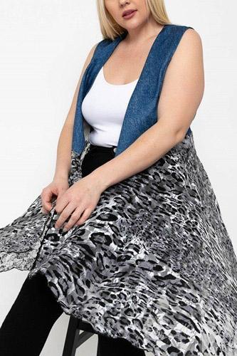 Sleeveless, Lace Cardigan