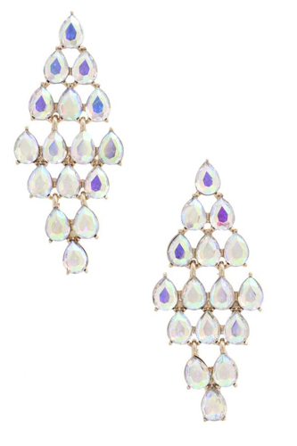 Chandelier Elegant Rhinestone Earring
