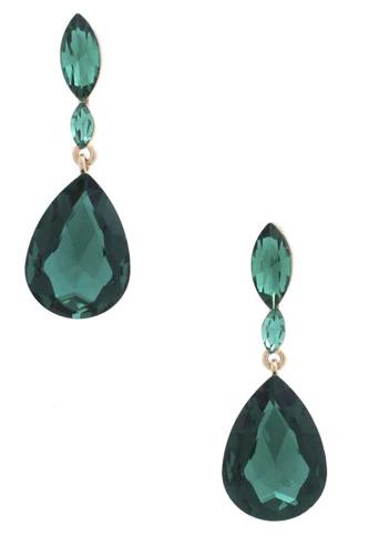 Marquise Teardrop Rhinestone Earring
