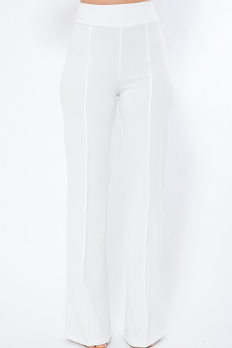 Perfect Fit Solid Pants