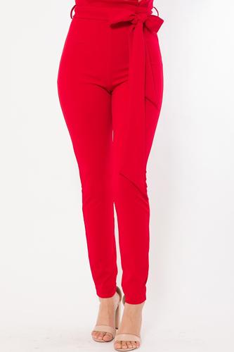High Waist Fashion Skinny Pants