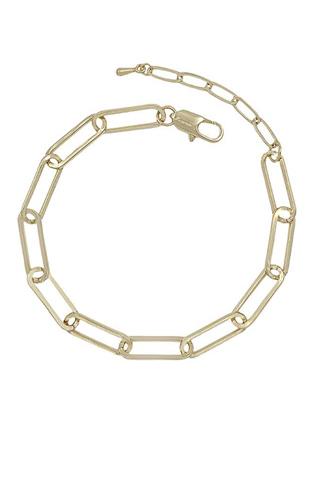 Fashion Clothing Pin Metal Chain Bracelet