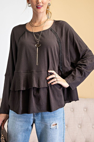 Lace Detailing Tunic