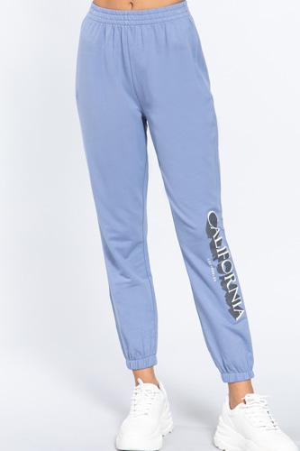 Graphic Long Jogger Pants