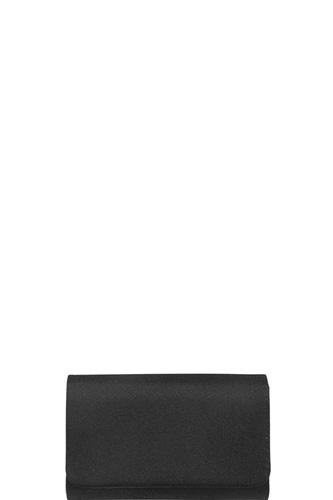 Stylish Plain Glitter Sparkle Chain Clutch Bag