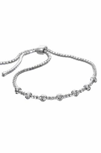Rhinestone Adjust Bracelet
