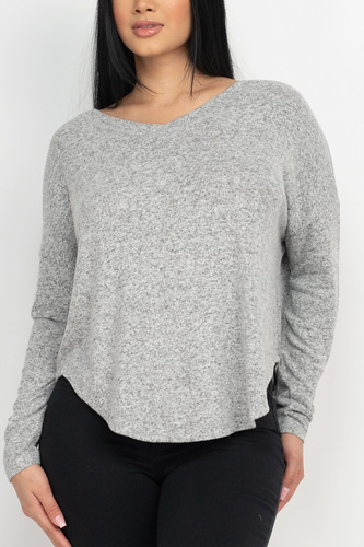 Dolman Sleeve Cozy Top