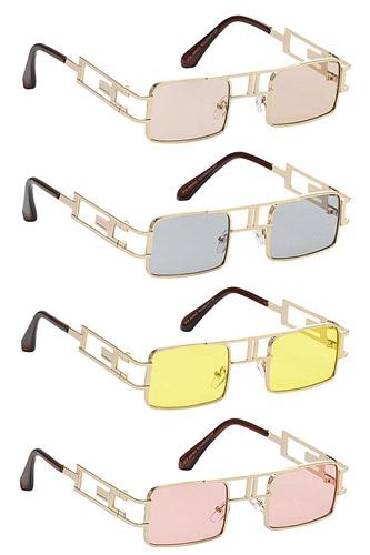 Stylish Square Side Metal Design Sunglasses