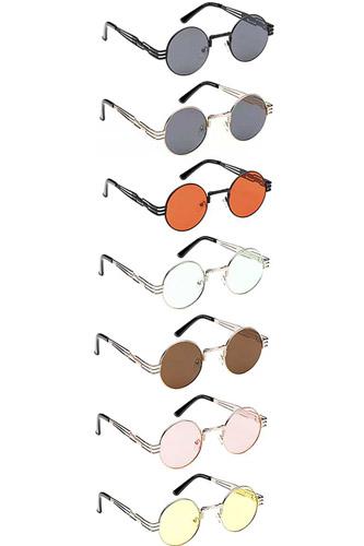 Fashion Circle Round Sunglasses