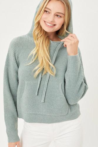 Drawstring Hoodie Sweater
