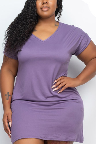 Side Pocket Mini Dress