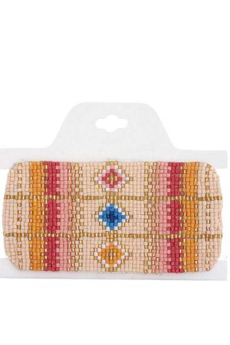 Colorful Brick Stitch Bracelet