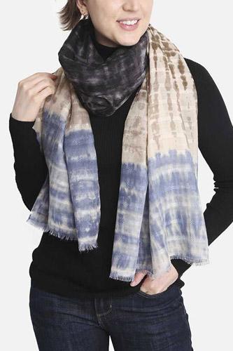 Fashion Tie Dye Skinny Scarf