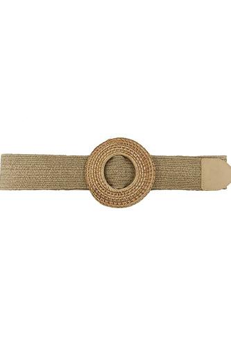 Modern Straw Round Belt